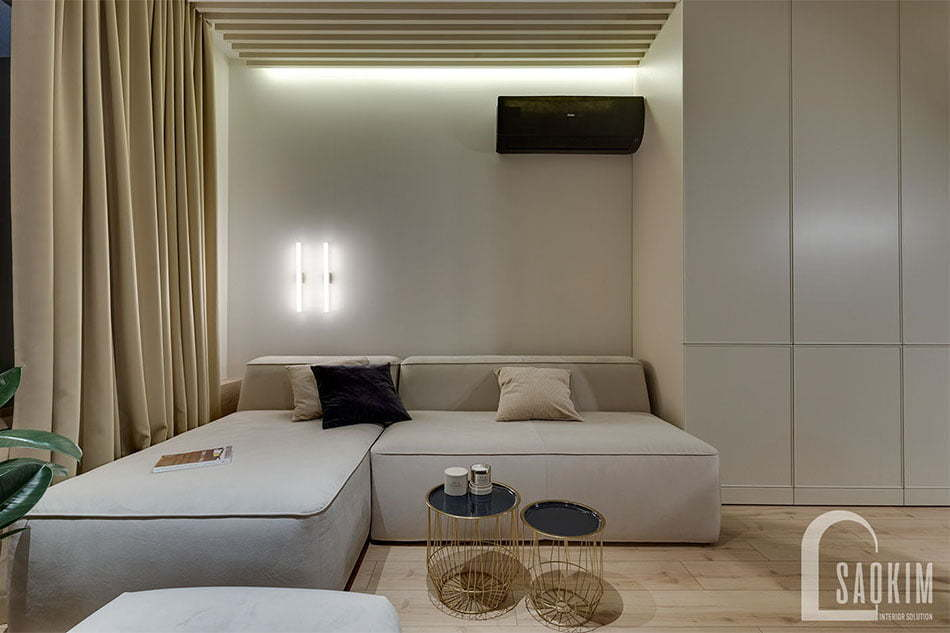 Mẫu thiết kế sofa giường mang lợi nhiều tiện ích cho người sử dụng