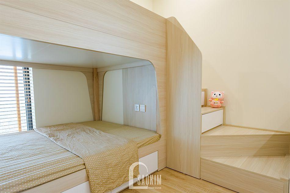 Phòng ngủ cho bé lựa chọn nội thất đơn giản, thông minh