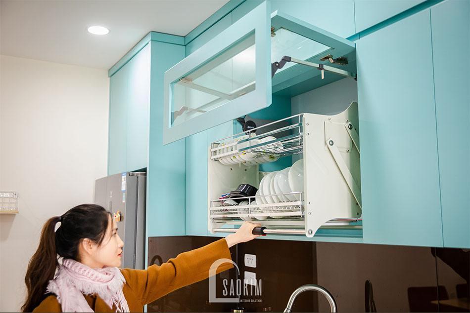 Thiết kế nội thất phòng bếp hiện đại, tiện nghi