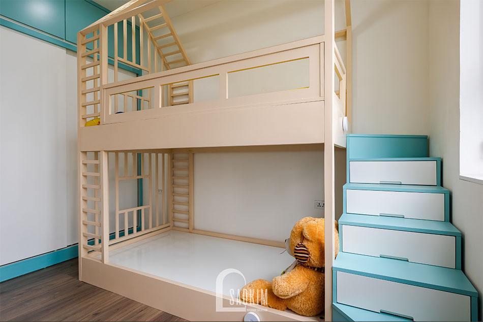 Hoàn thiện thiết kế thi công căn hộ khu đô thị Nam Trung Yên
