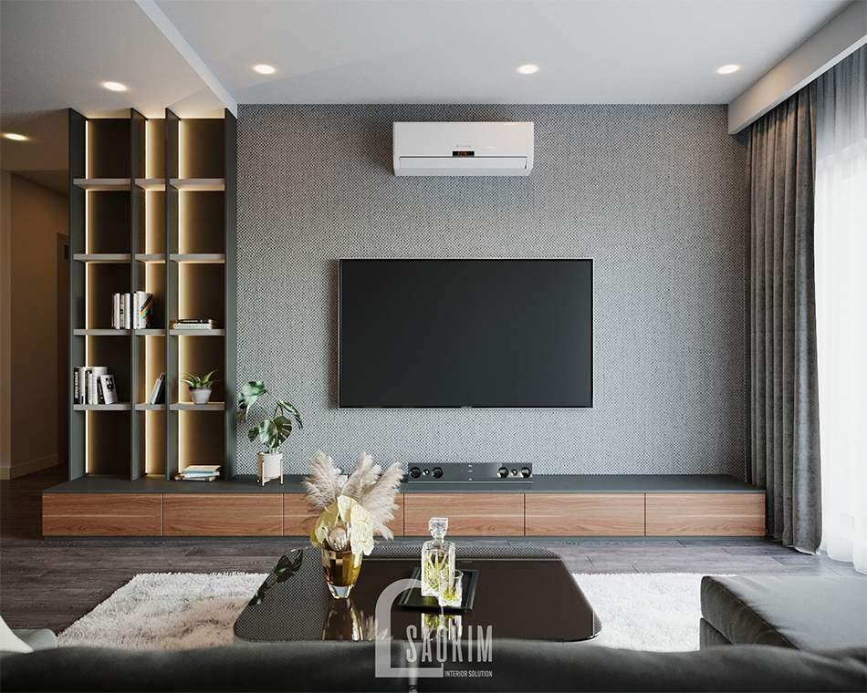 Mẫu thiết kế căn hộ 3 phòng ngủ HPC Landmark 105 Tố Hữu
