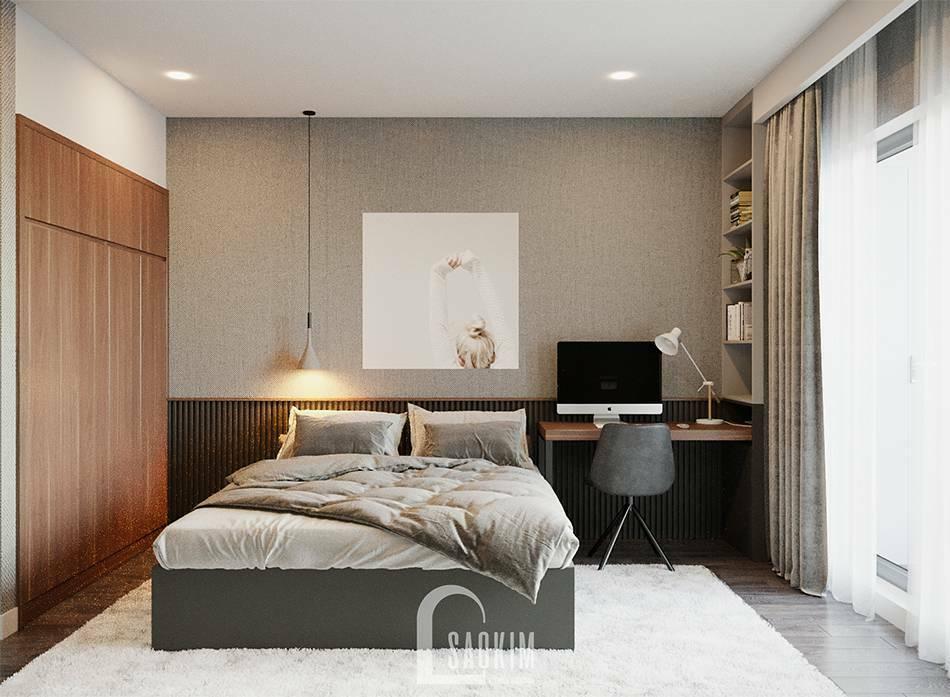 Mẫu thiết kế phòng ngủ 3 căn hộ HPC Landmark 105 Tố Hữu