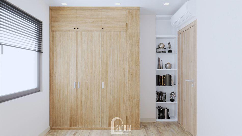 Mẫu thiết kế nội thất căn hộ 70m2 Vinhomes Ocean Park