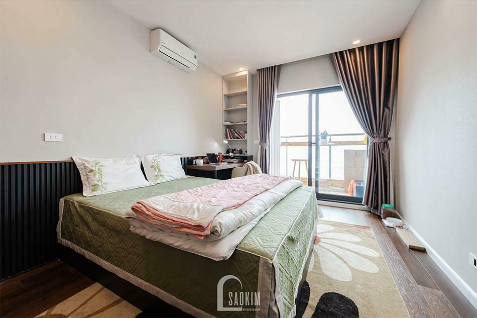 Hoàn thiện nội thất chung cư HPC Landmark 105 Tố Hữu - phòng ngủ 2