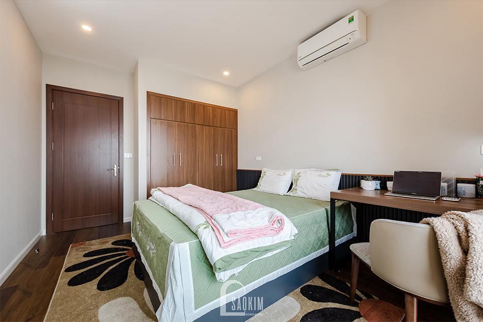 Hoàn thiện thi công nội thất phòng ngủ chung cư HPC Landmark 105 Tố Hữu