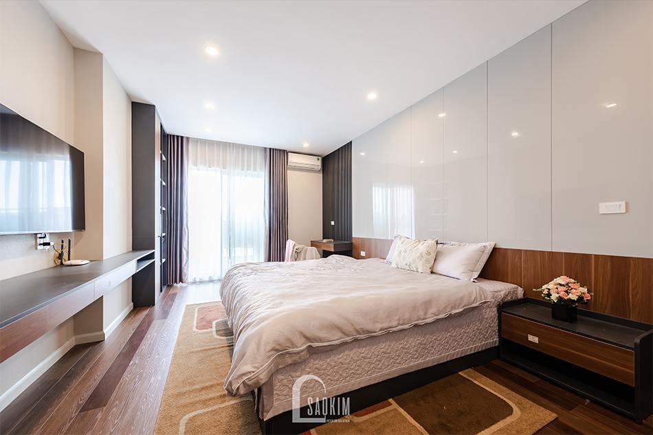 Hoàn thiện thi công chung cư HPC Landmark 105 Tố Hữu - phòng ngủ master