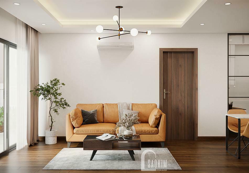 Thiết kế chung cư 100m2 3 phòng ngủ dự án TSQ