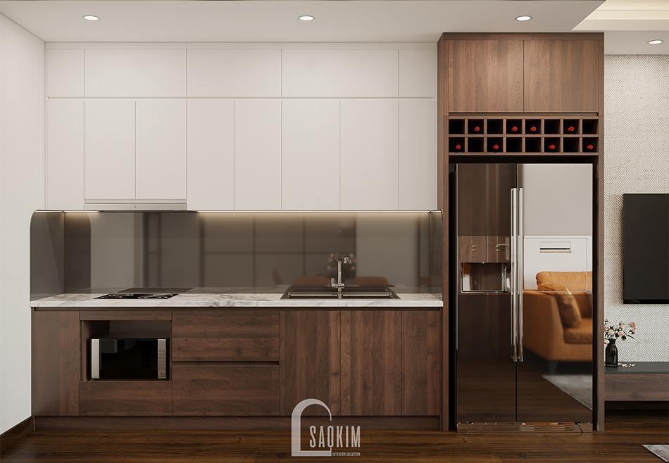 Phòng bếp chung cư TSQ
