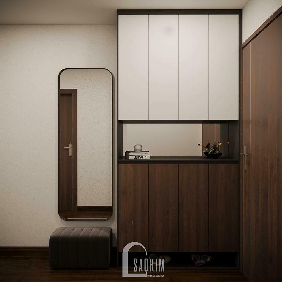 Khu vực hành lang căn hộ