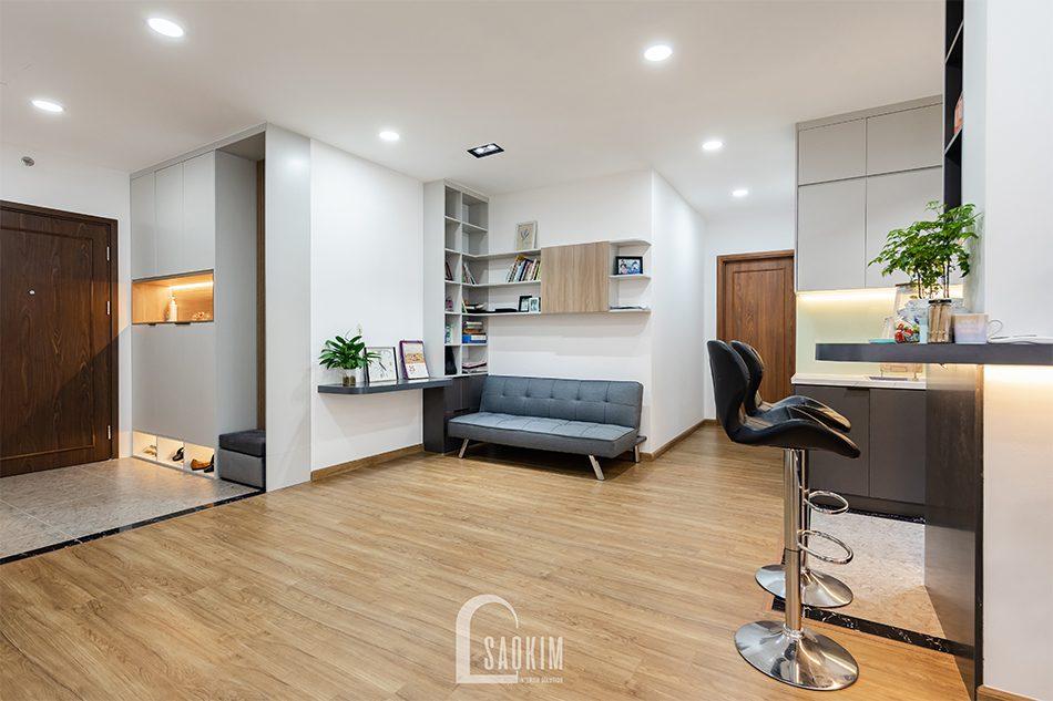 Thiết kế thi công chung cư Hà Nội căn hộ Iris Garden mang vẻ đẹp tinh tế