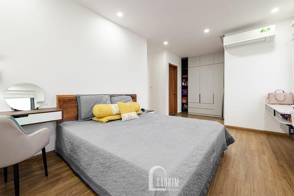 Thiết kế thi công phòng ngủ master chung cư Iris Garden