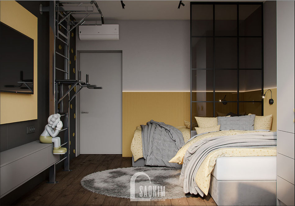 Thiết kế nội thất phòng ngủ cho bé