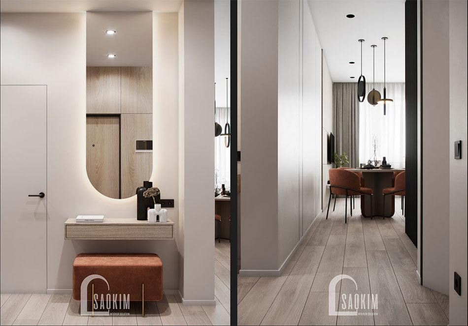 Thiết kế nội thất chung cư đẹp The Terra An Hưng theo phong cách hiện đại