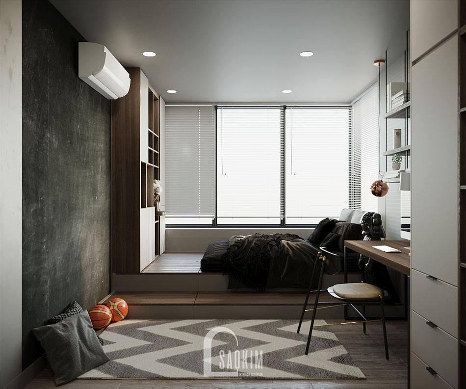 Thiết kế nội thất chung cư cao cấp 150m2 theo phong cách hiện đại