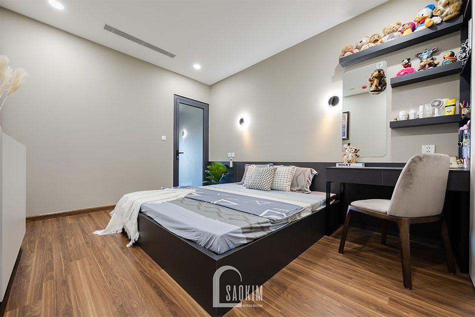 Hoàn thiện thi công chung cư 80m2 Golden Park