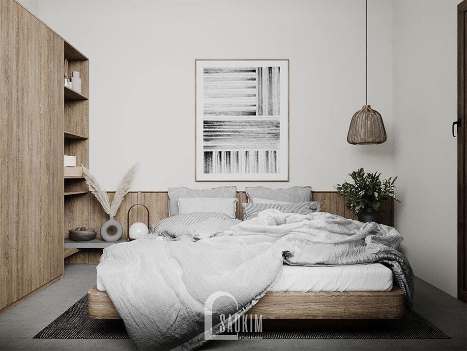 Thiết kế phòng ngủ nội thất phong cách Wabi Sabi để tận hưởng kỳ nghỉ cuối tuần