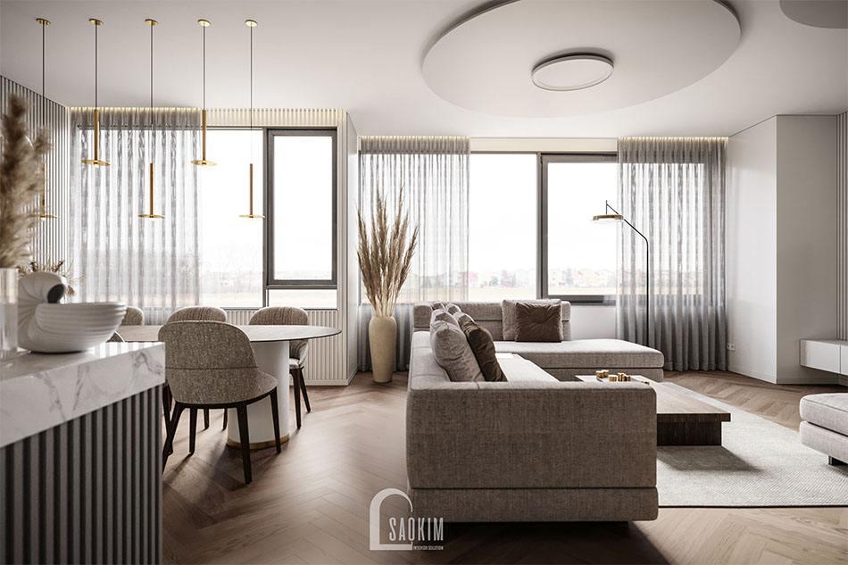 Thiết kế nội thất cao cấp chung cư hạng sang The Matrix One