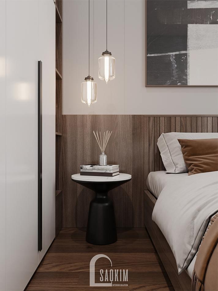 Thiết kế phòng ngủ cho khách chung cư The Zen Gamuda