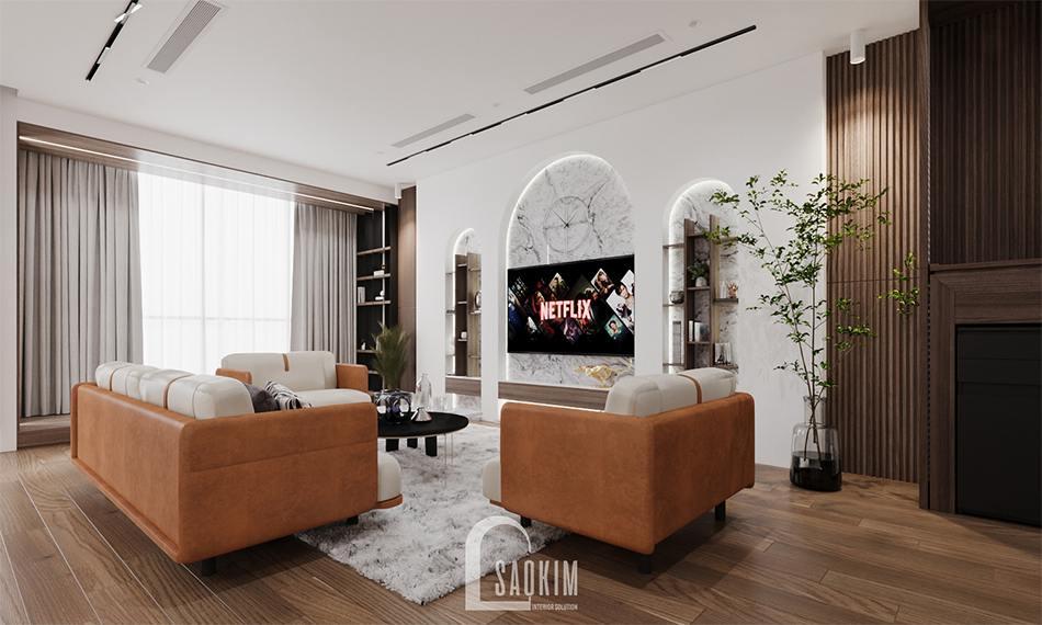 Thiết kế chung cư 3 phòng ngủ The Zen Gamuda mang vẻ đẹp hiện đại, mới lạ