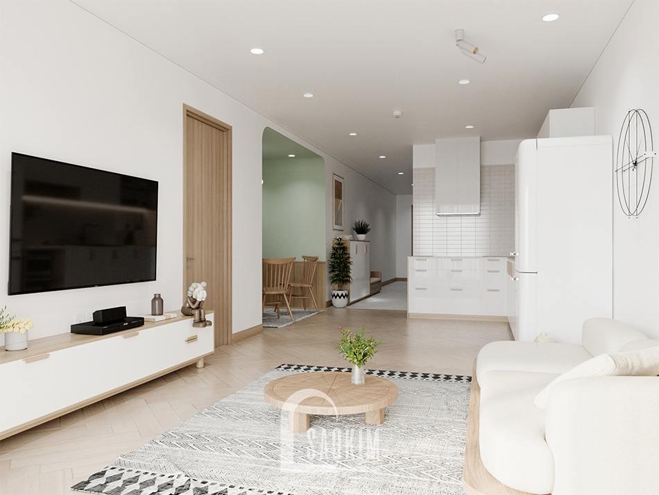 Thiết kế chung cư bàn giao thô dự án Thiên Niên Kỷ (TSQ)