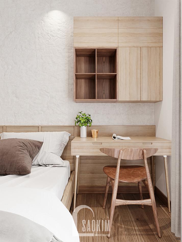 Thiết kế nội thất phòng ngủ master chung cư 157m2
