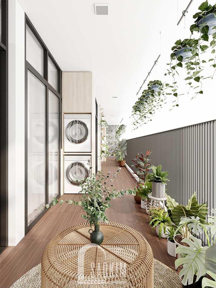 Hô biến logia chung cư thành khu vườn nhỏ xanh mát trên cao cho chung cư The Zen Gamuda 157m2