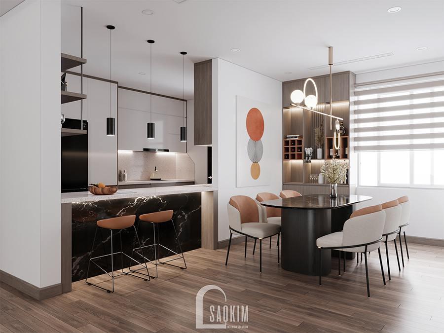 Thiết kế chung cư phong cách hiện đại Huyndai Hillstate đẹp cuốn hút