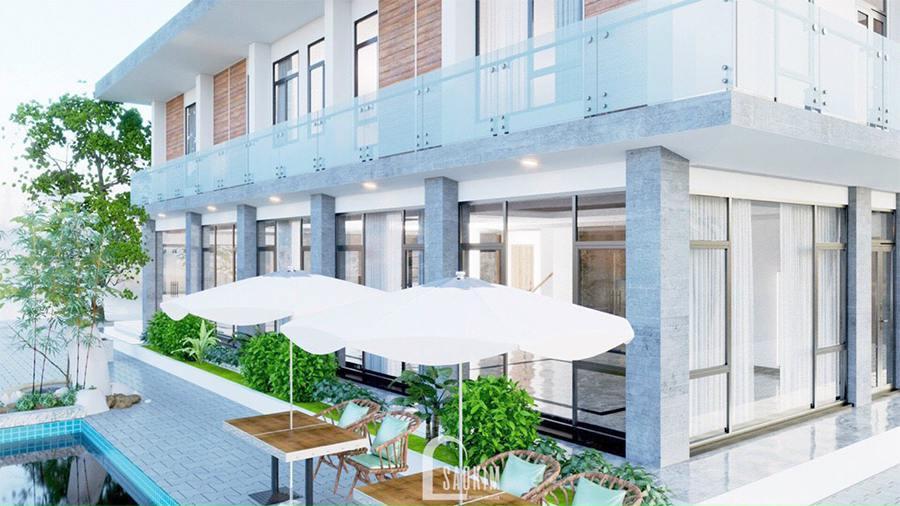 Thiết kế kiến trúc nội thất biệt thự nghỉ dưỡng đẹp tại Ba Vì theo phong cách hiện đại