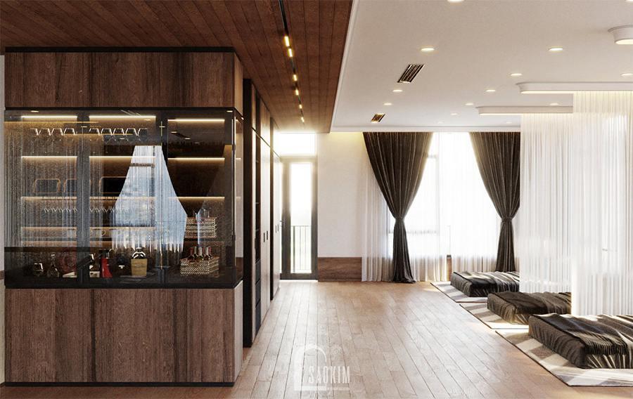 Khung cửa kính được sử dụng nhiều để đưa ánh sáng tự nhiên vào nhà
