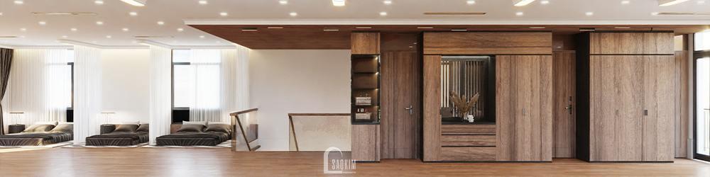 Mẫu thiết kế biệt thự nghỉ dưỡng đẹp tại Ba Vì theo phong cách hiện đại