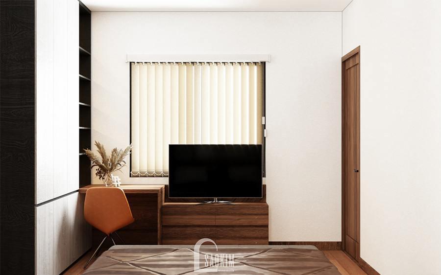 Phòng ngủ đầy đủ tiện nghi