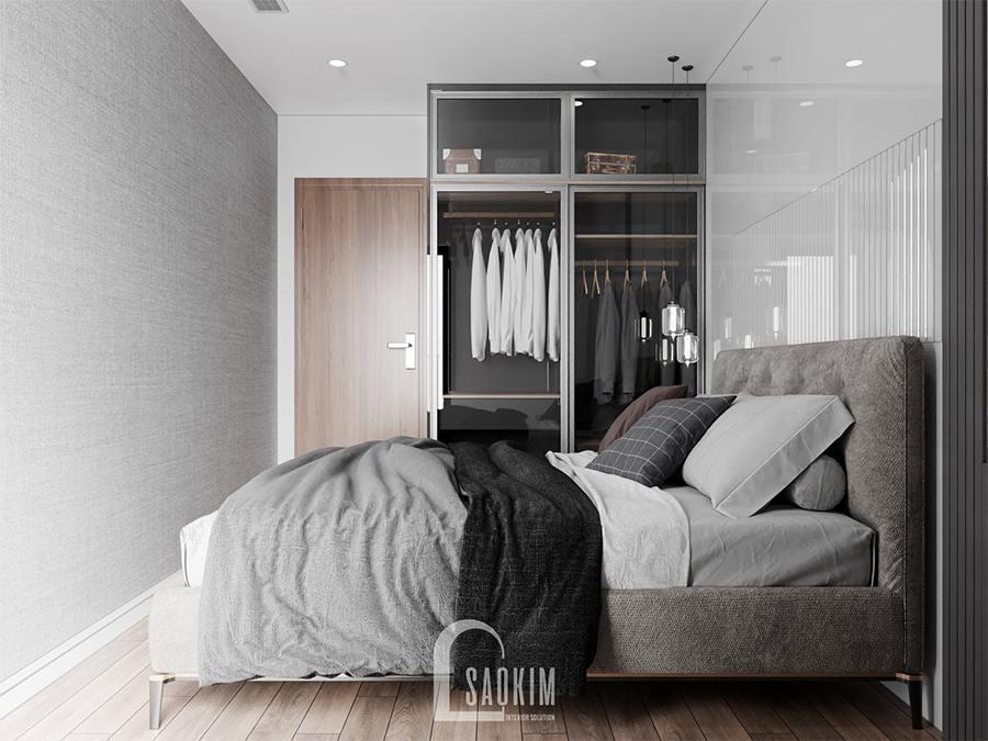 Thiết kế nội thất phòng ngủ 4 nhà phố gọn gàng, ngắn nắp và đầy cá tính